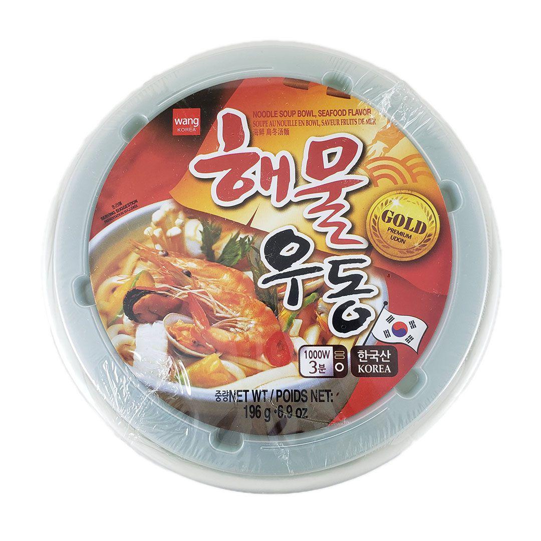 Lamen Coreano Udon Frutos do Mar Wang Bowl 196g
