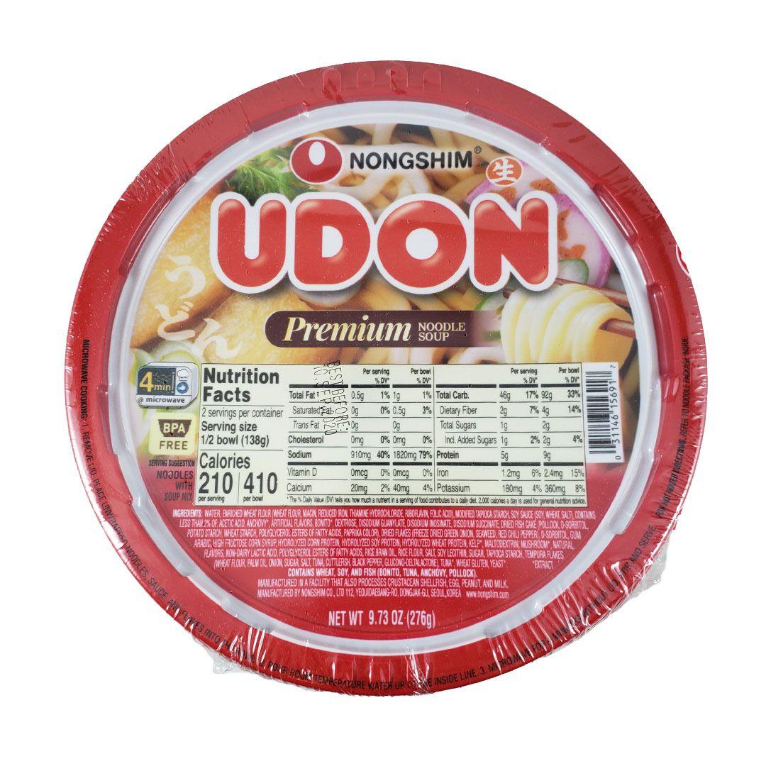 Lamen Coreano Udon Premium Cup Noodle Nongshim 276g