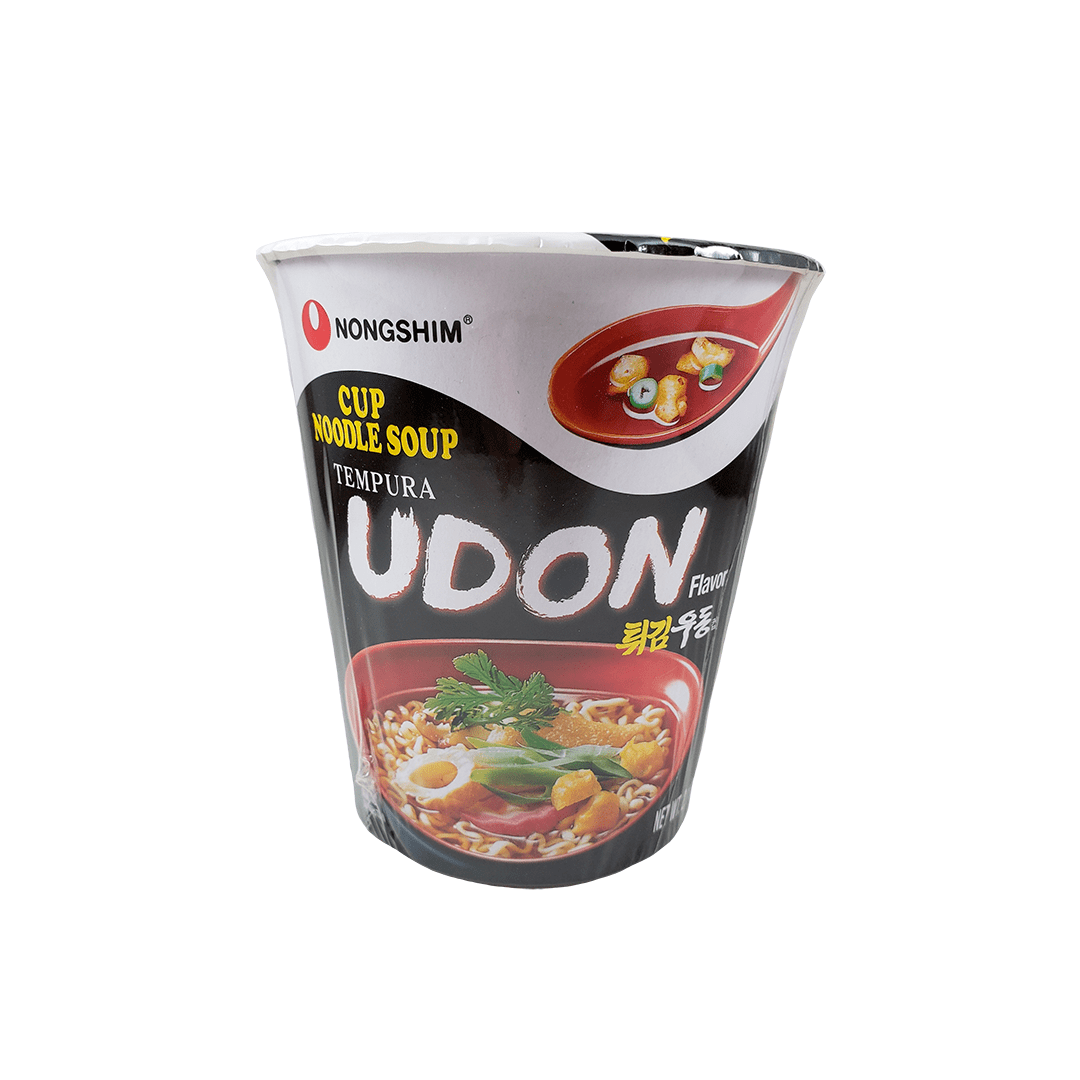 Lamen Coreano Udon Tempura Cup Noodle Nongshim 62g