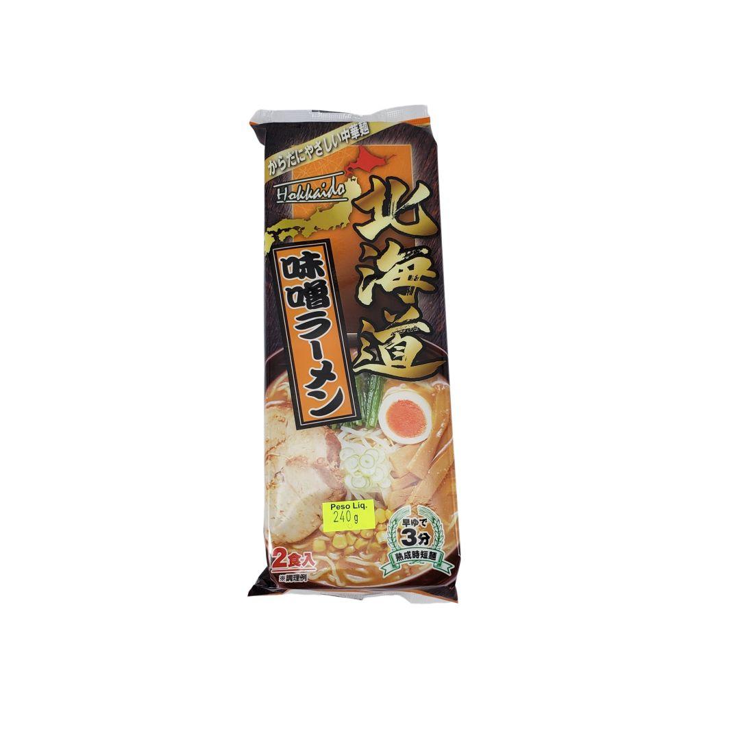Lamen Japonês sabor Misso Sunaoshi Hokkaido 240g