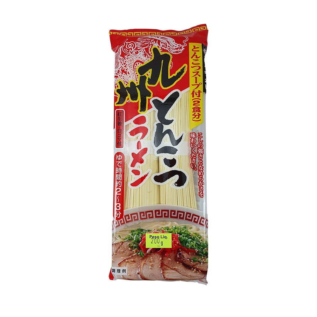 Lamen Japonês sabor Porco Tonkotsu Sunaoshi 200g