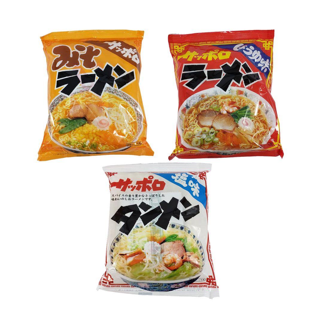 Lamen Japonês Sapporo Ramen Sunaoshi Kit Shoyu Sal Misso
