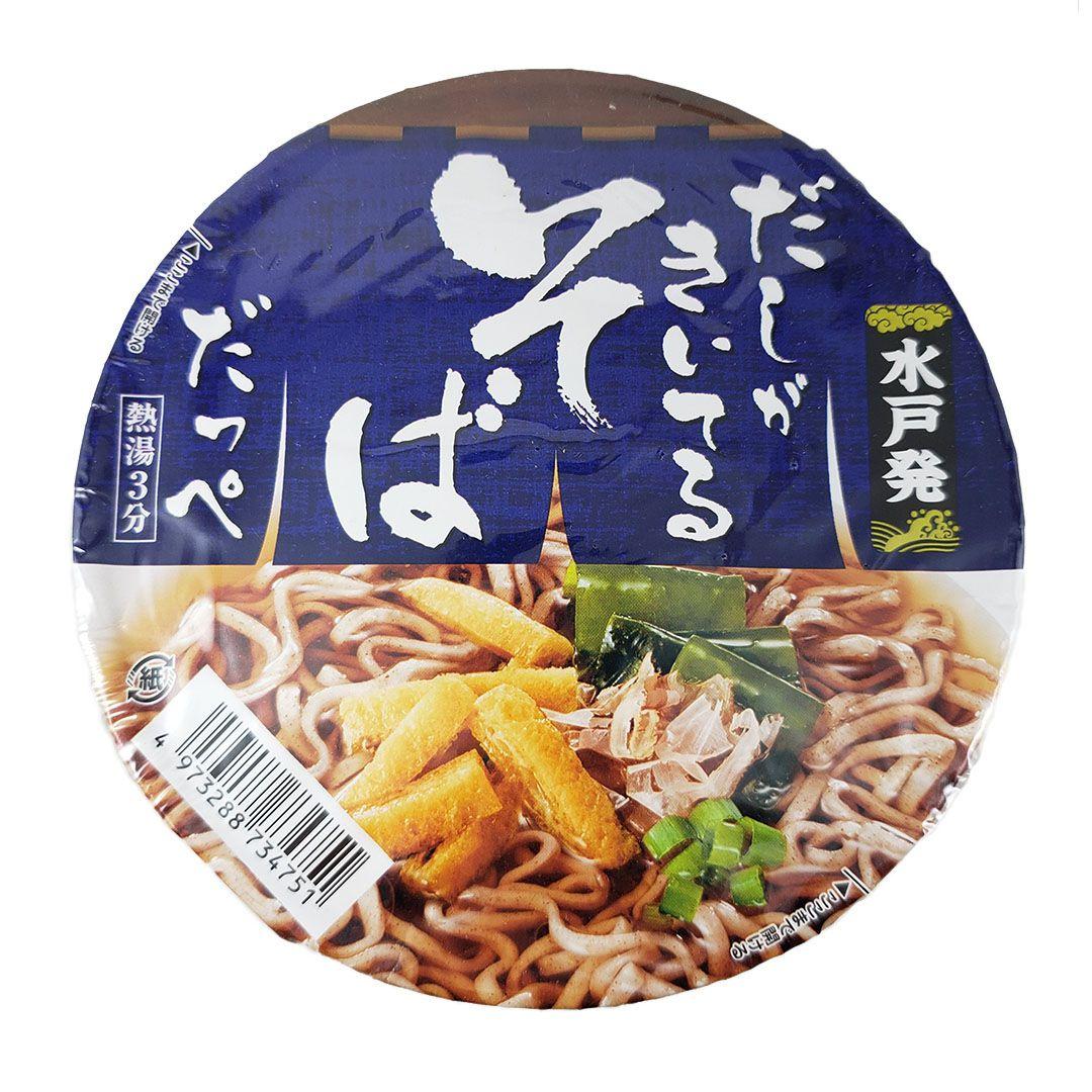 Lamen Japonês Sunaoshi Cup Dashi Soba Noodle 80g
