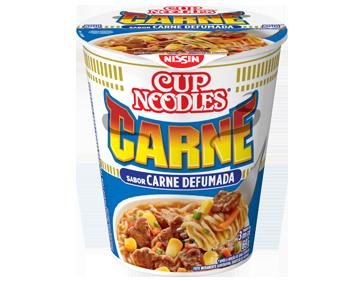 Lamen Nissin Cup Noodles Carne 69g