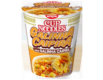 Lamen Nissin Cup Noodles Galinha Caipira 69g
