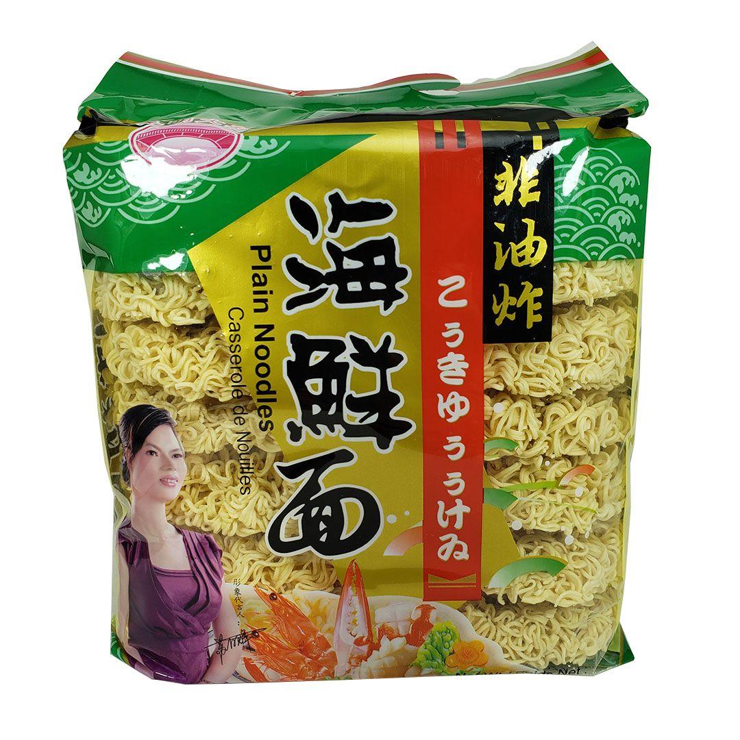 Macarrão com Ovo sabor Frutos do Mar Zhong Shan 908g