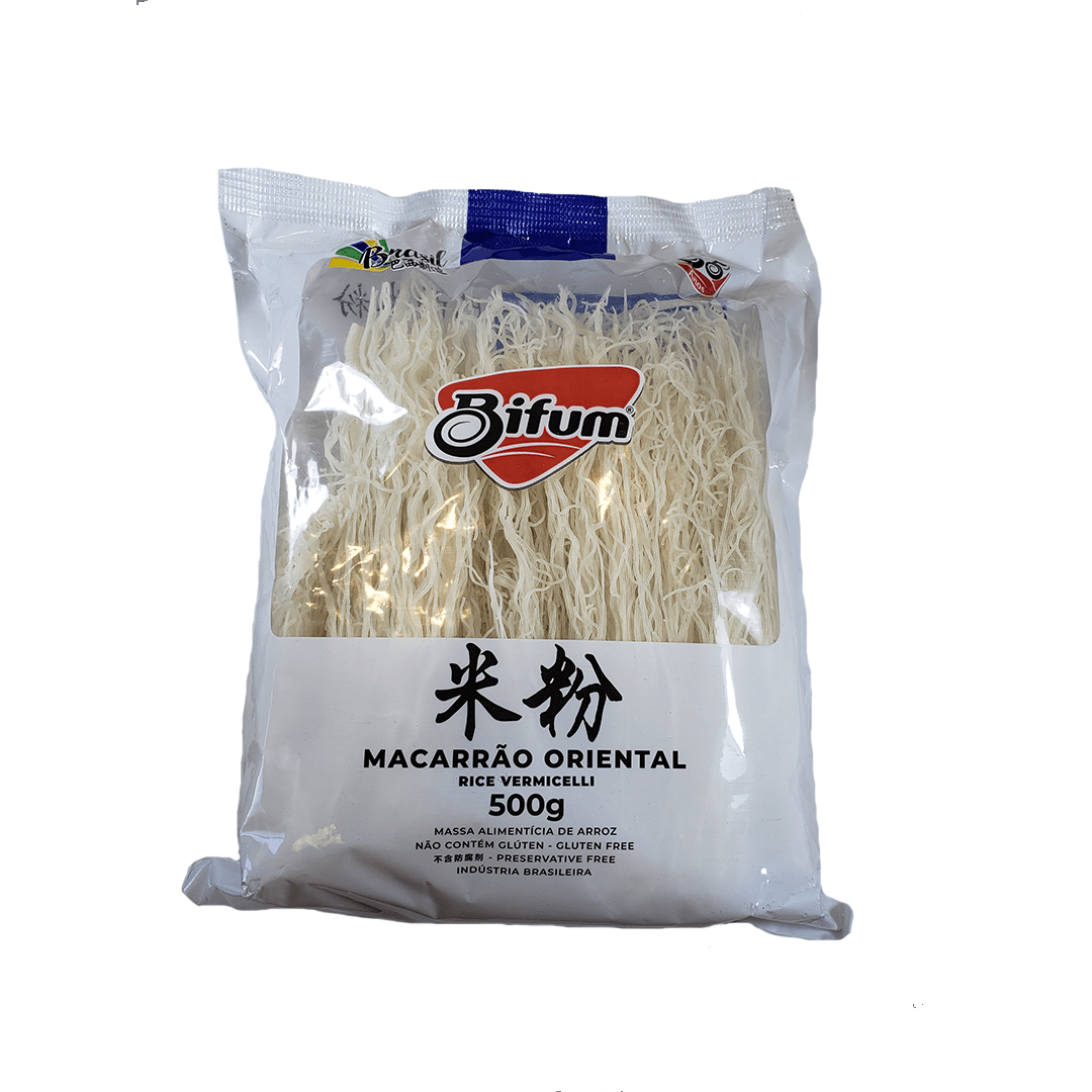 Macarrão de Arroz Bifum Rice Vermicelli 500g