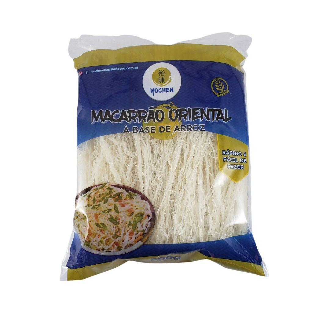Macarrão de Arroz Bifum Rice Vermicelli Yuchen 500g