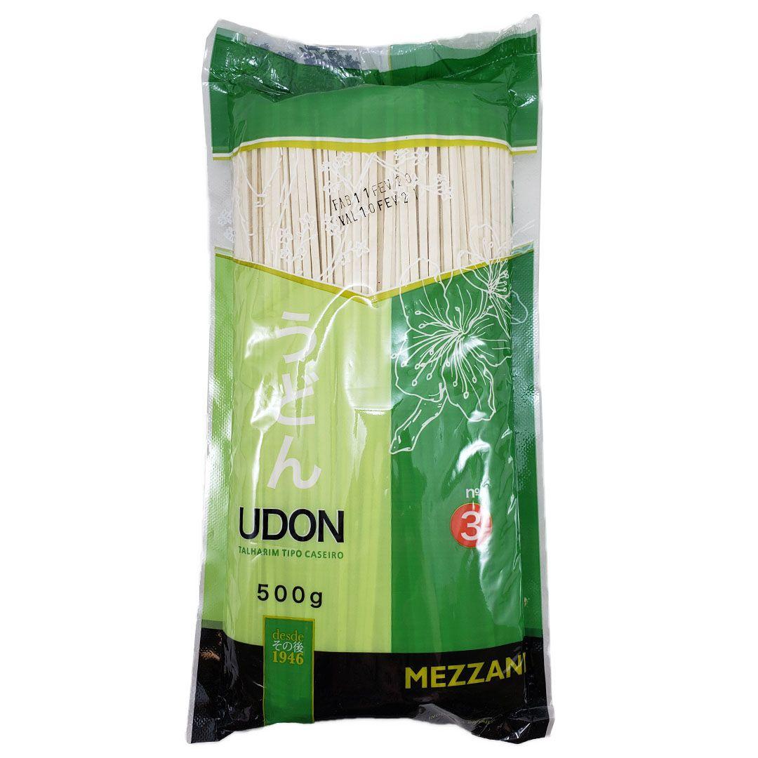 Macarrão para Udon Mezzani Número 3 500g