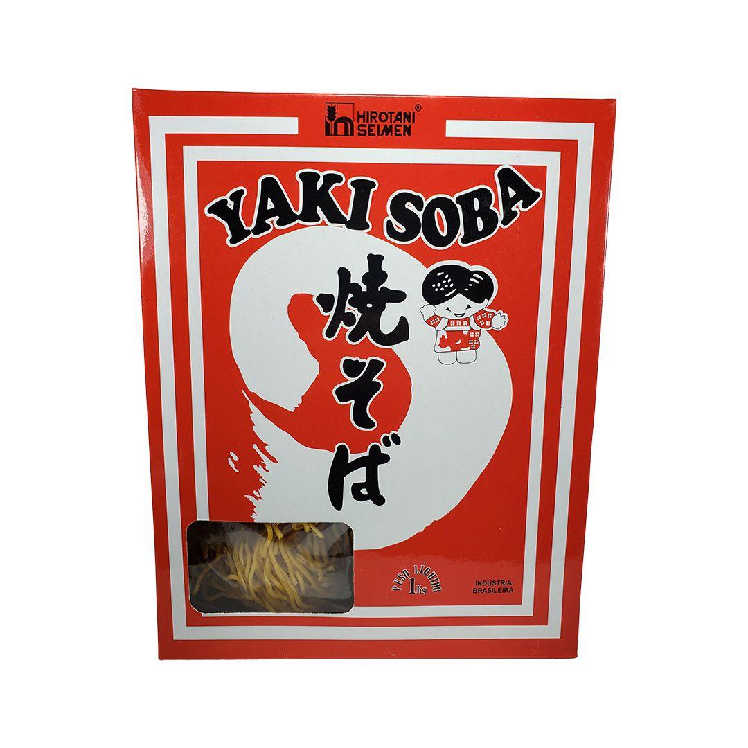 Macarrão para Yakisoba Hirotani Seimen 1Kg