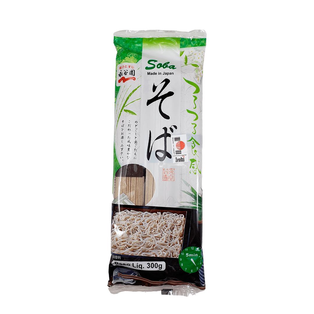 Macarrão Soba de Trigo Sarraceno Japonês Nagatanien 300g