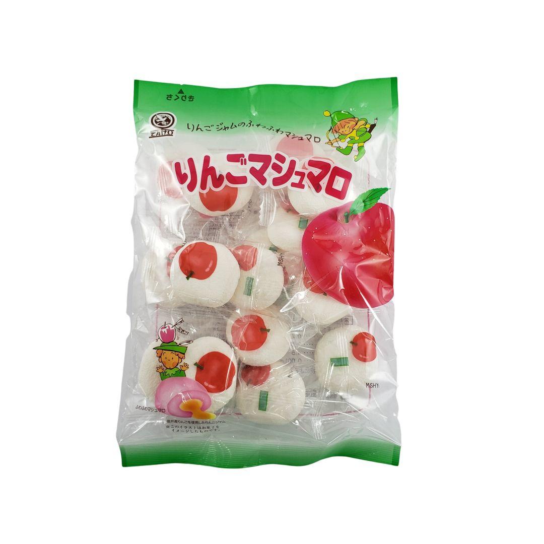 Marshmallow com recheio de Maçã Japonês Tenkei 90g