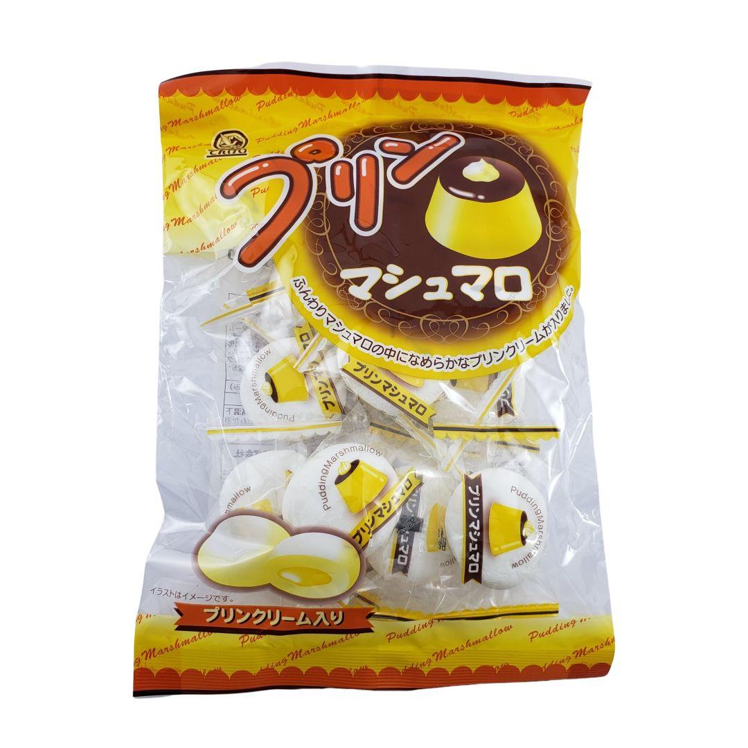 Marshmallow com recheio de Pudim Japonês Tenkei 90g