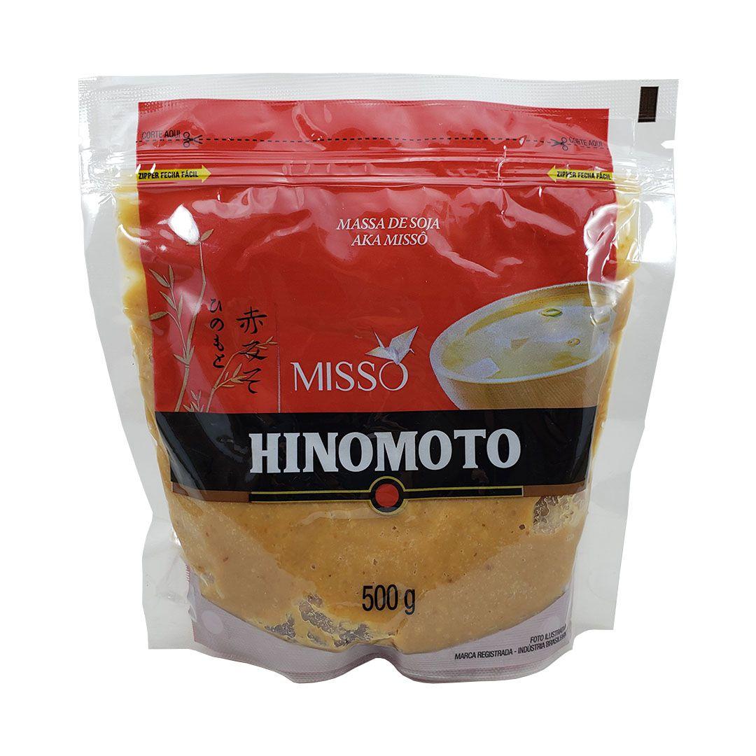 Missô Massa de Soja Aka Hinomoto 500g