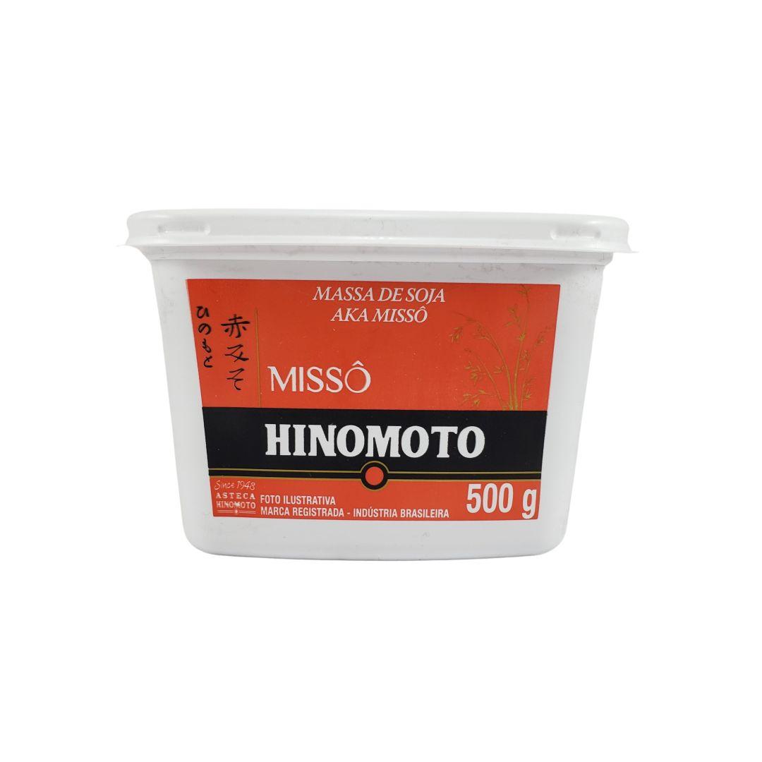 Missô Massa de Soja Aka Hinomoto Pote 500g