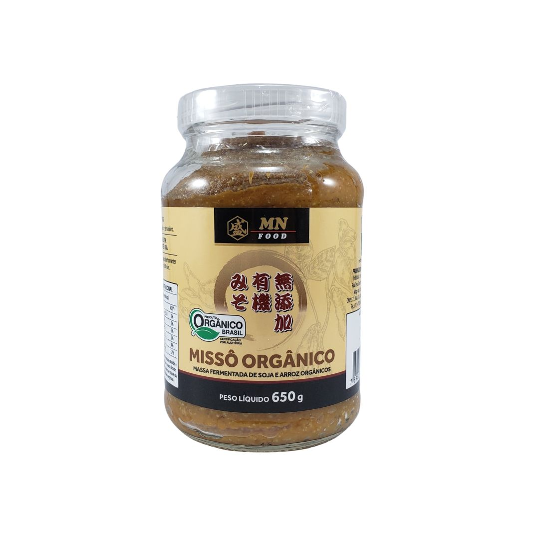 Missô Orgânico Massa de Soja MN Food 650g