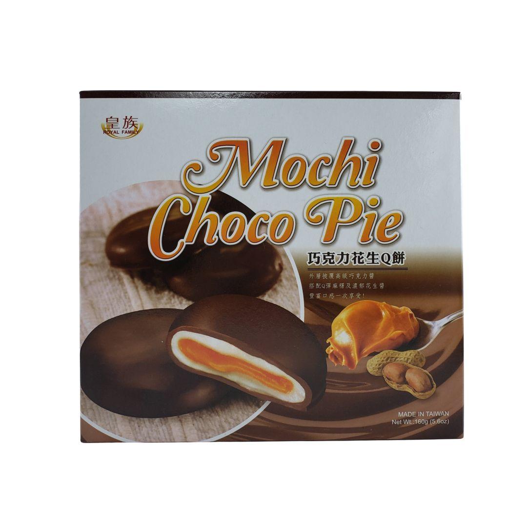 Mochi Choco Pie Amendoim Royal Family 160g