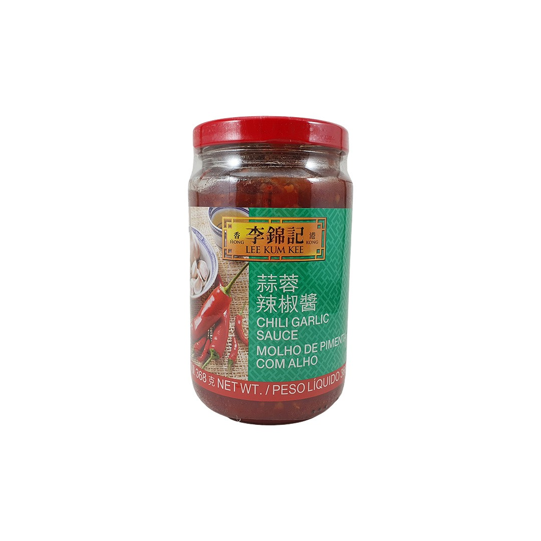 Molho de Pimenta com Alho Chili Garlic Lee Kum Kee 368g