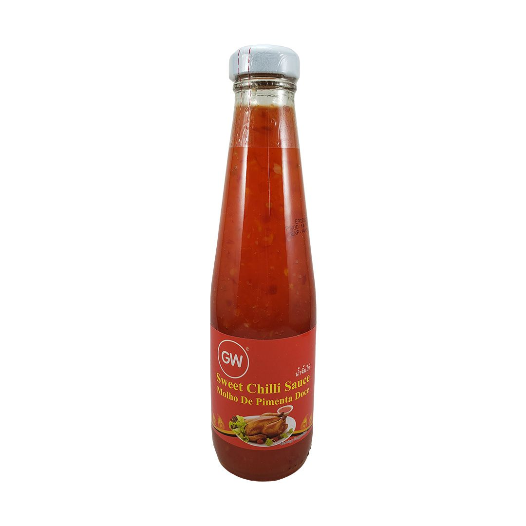 Molho de Pimenta Doce Tailandesa Sweet Chili GW 360g