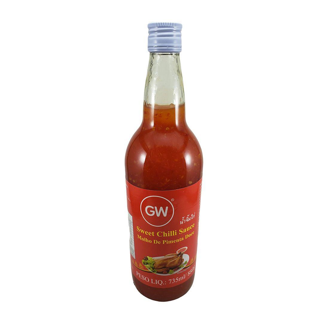 Molho de Pimenta Doce Tailandesa Sweet Chili GW 880g