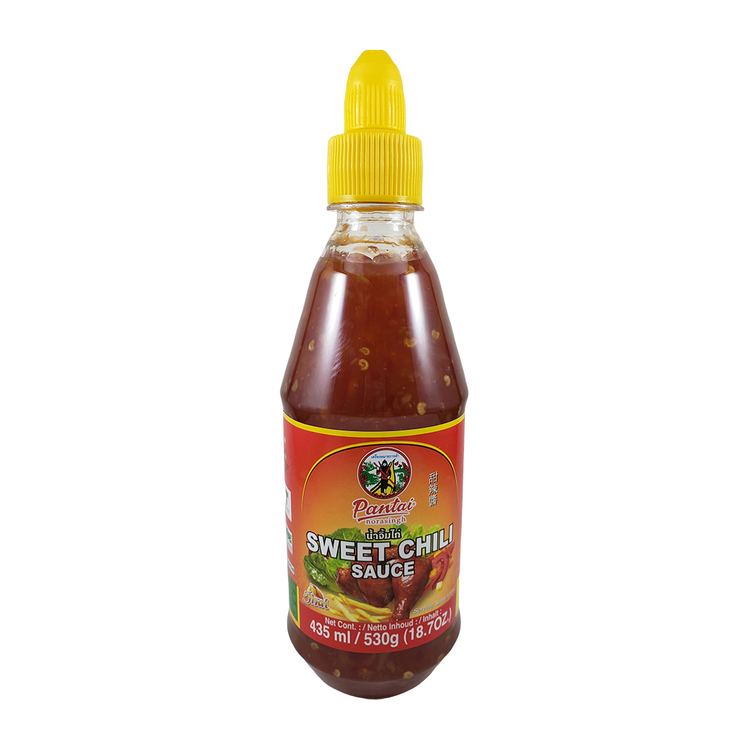 Molho de Pimenta Doce Tailandesa Sweet Chili Pantai 530g