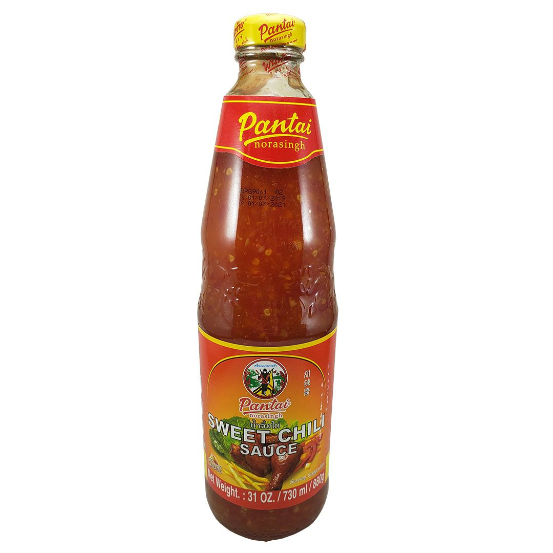 Molho de Pimenta Doce Tailandesa Sweet Chili Pantai 880g