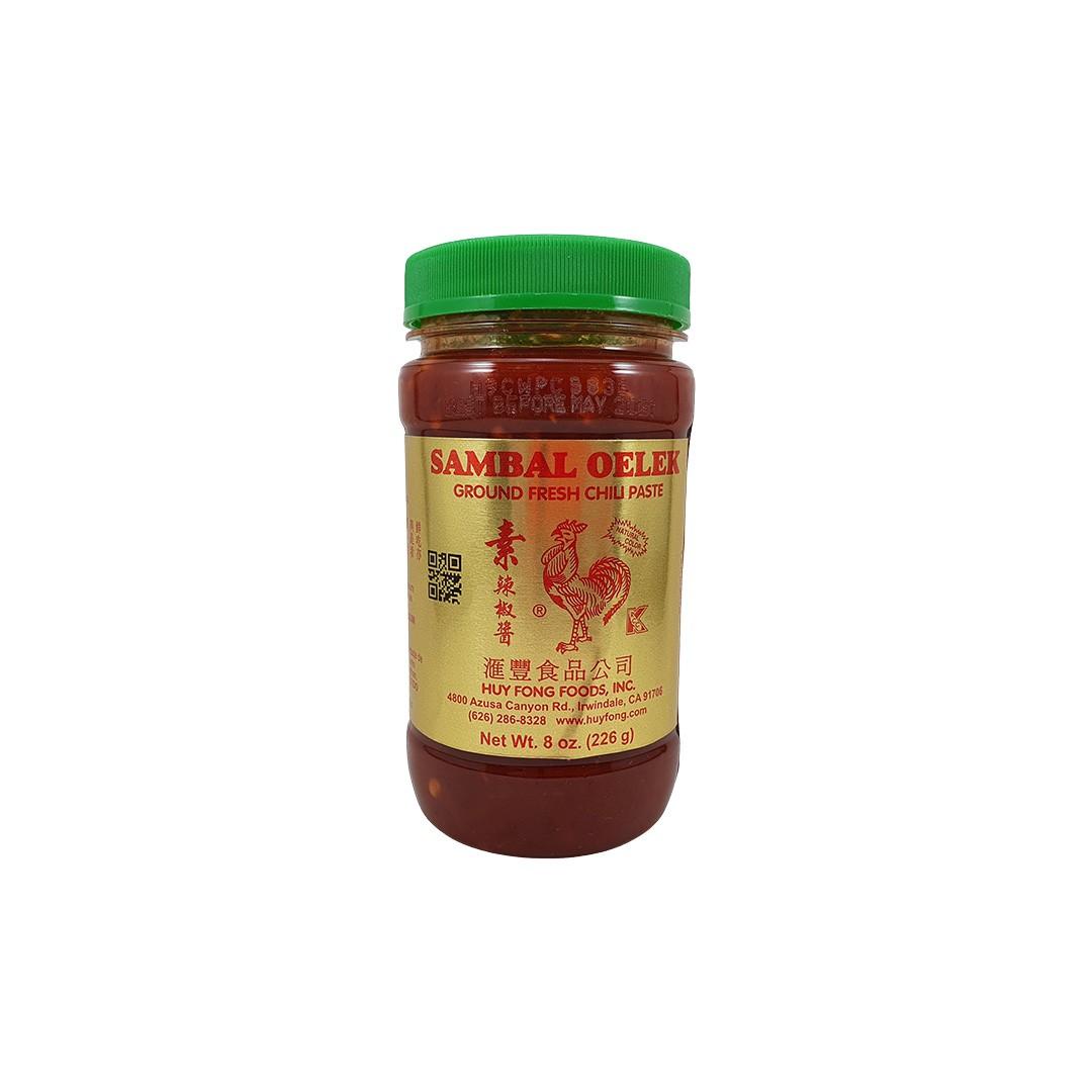 Molho de Pimenta Sambal Oelek Huy Fong 226g