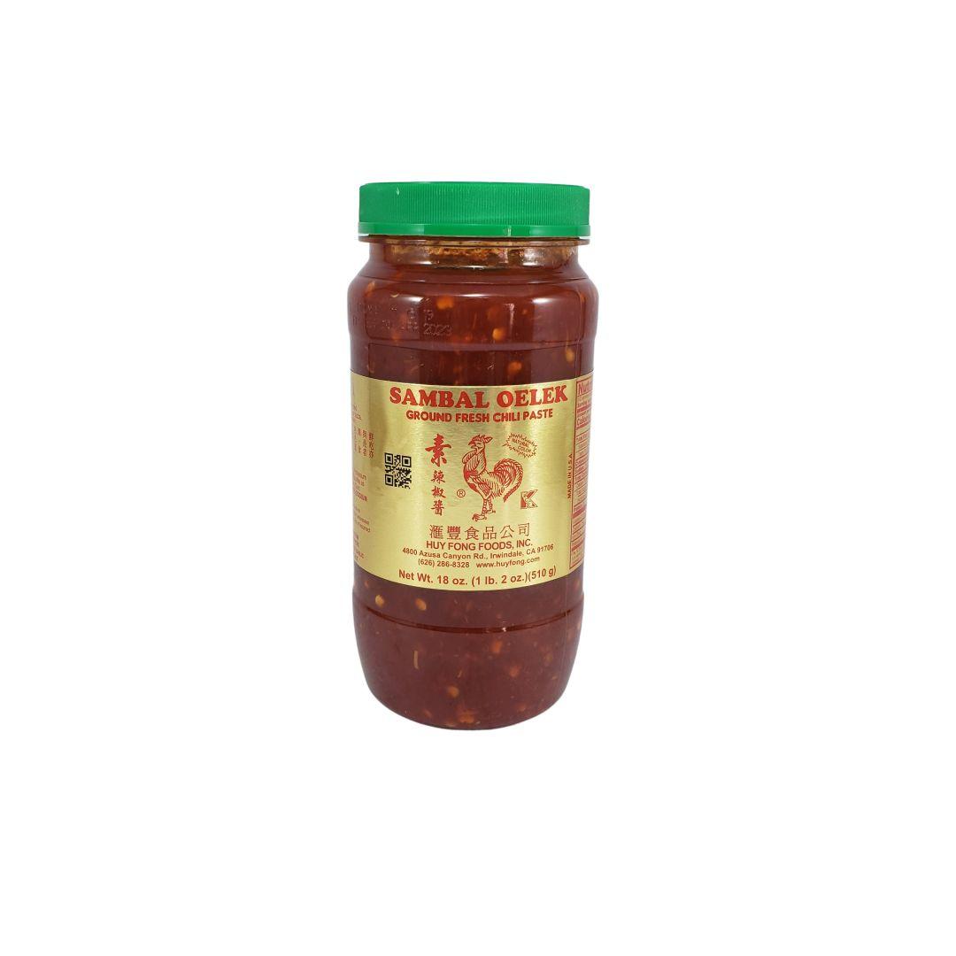 Molho de Pimenta Sambal Oelek Huy Fong 510g