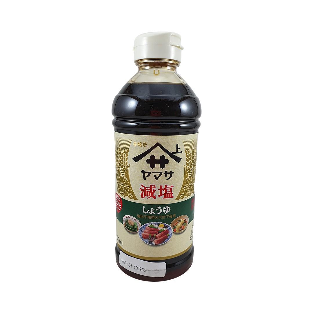 Molho de Soja Shoyu Yamasa Genen Menos Sal 500ml