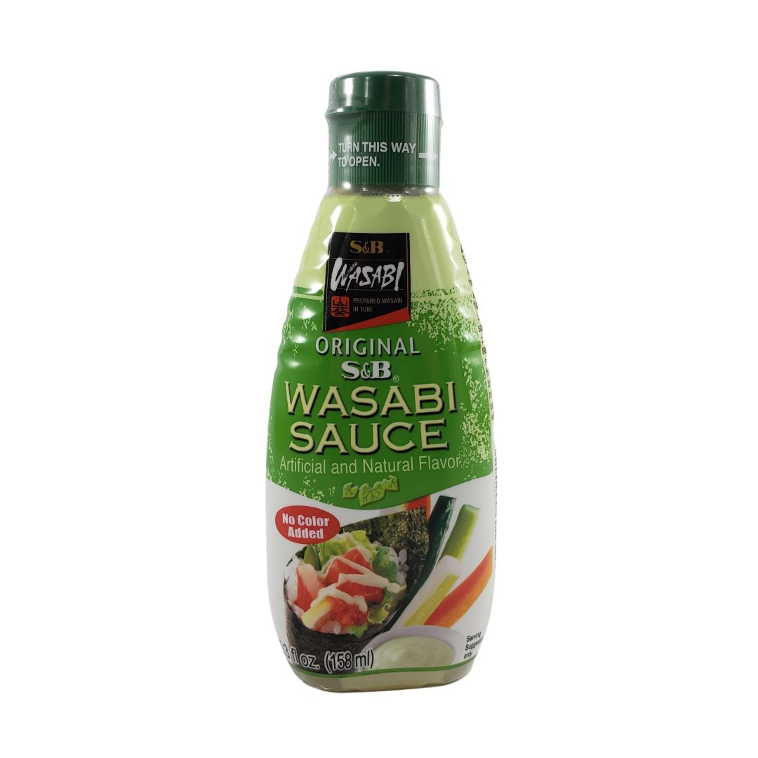 Molho de Wasabi S&B 170g