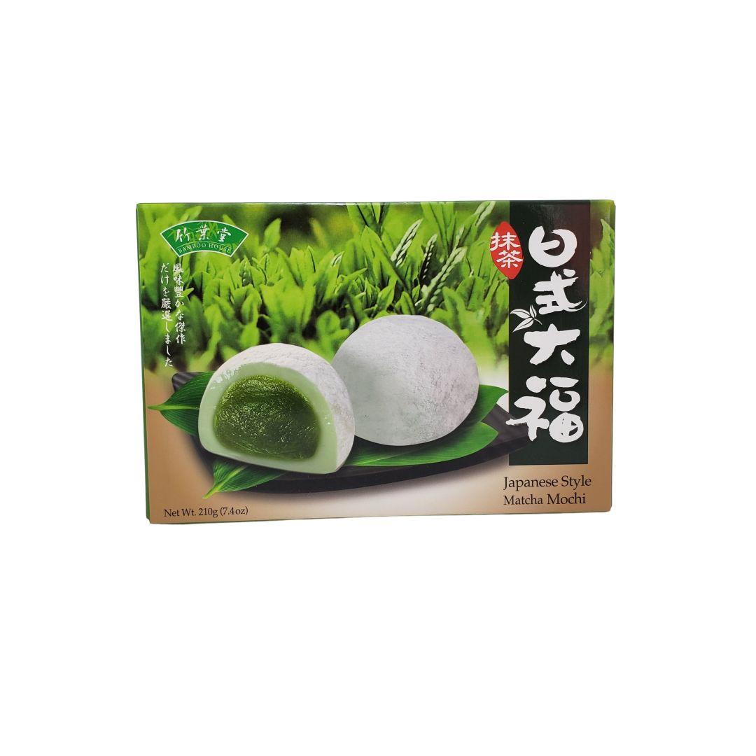 Moti Doce de Arroz Japonês sabor Matcha Bamboo House 210g