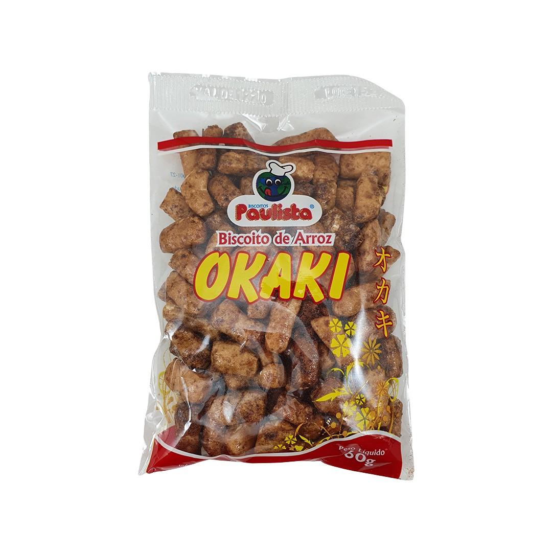 Okaki Biscoito de Arroz Paulista 60g