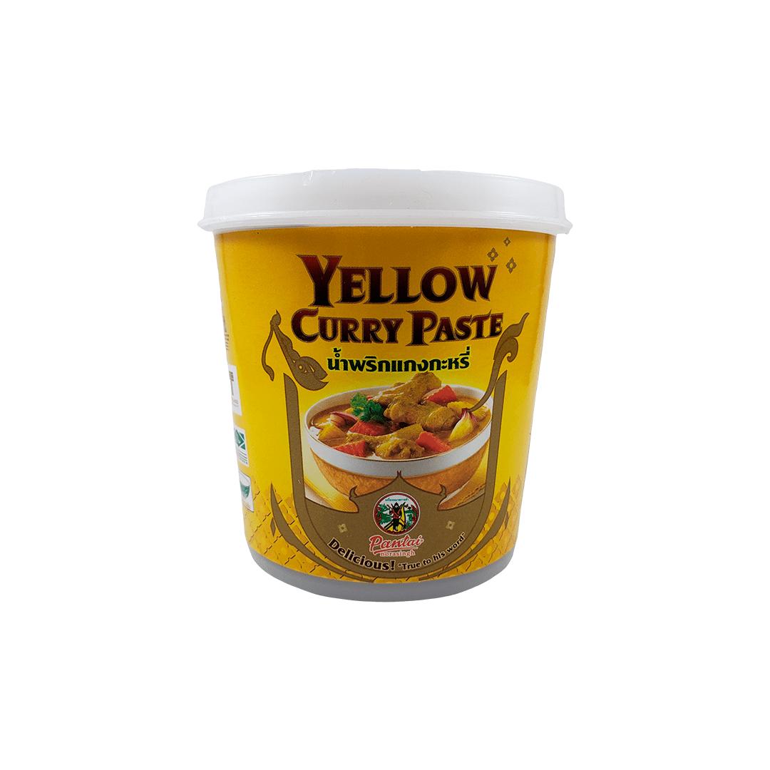 Pasta de Curry Amarelo Tailandês Yellow Curry Paste Pantai 400g