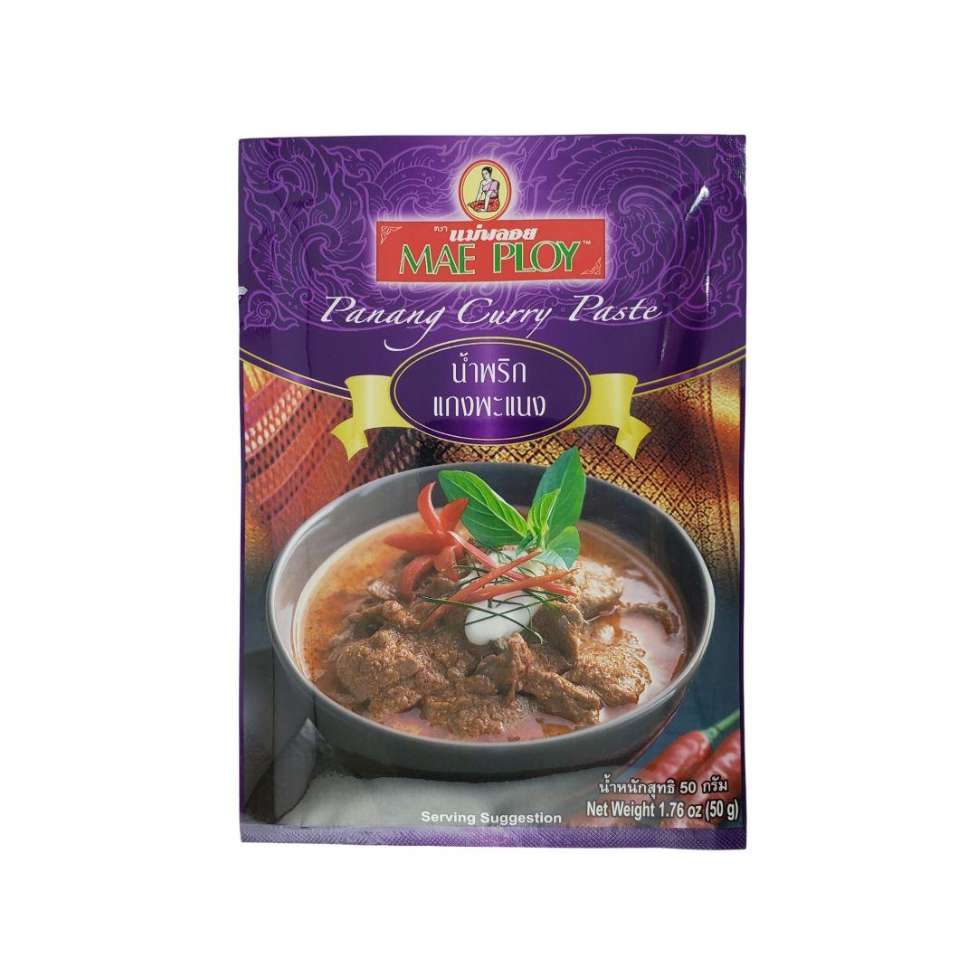 Pasta de Curry Panang Tailandês Mae Ploy 50g