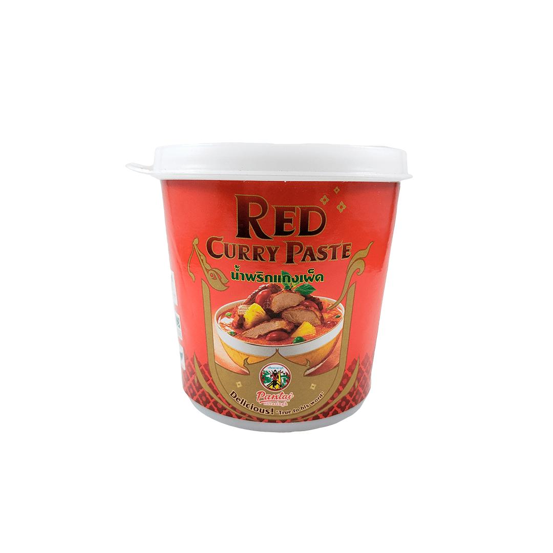 Pasta de Curry Vermelho Tailandês Red Curry Paste Pantai 400g
