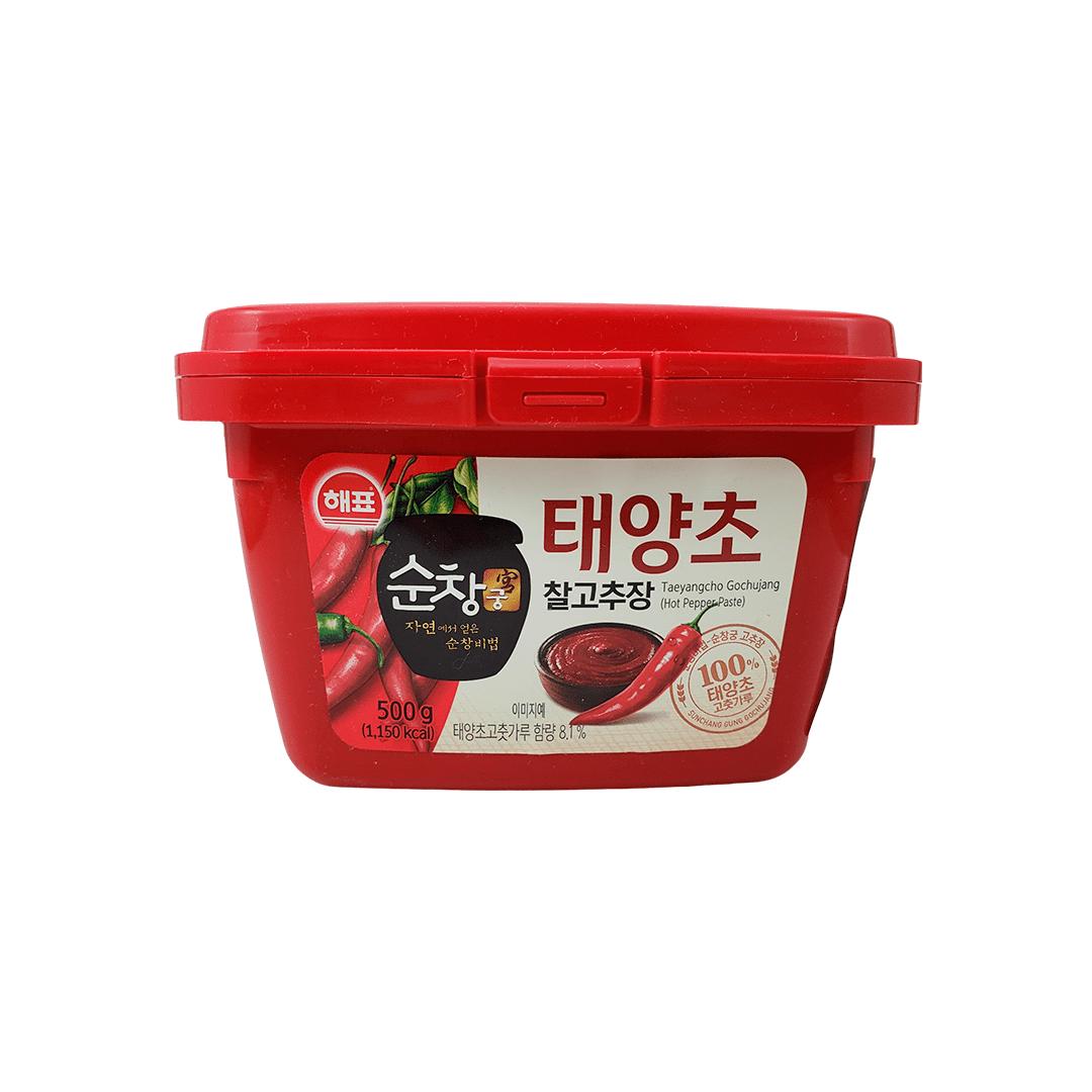 Pasta de Pimenta Vermelha Coreana Gochujang Sajo 500g