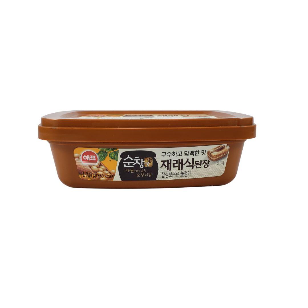 Pasta de Soja Coreana Sunchanggung Misso Tradicional Sajo 170g