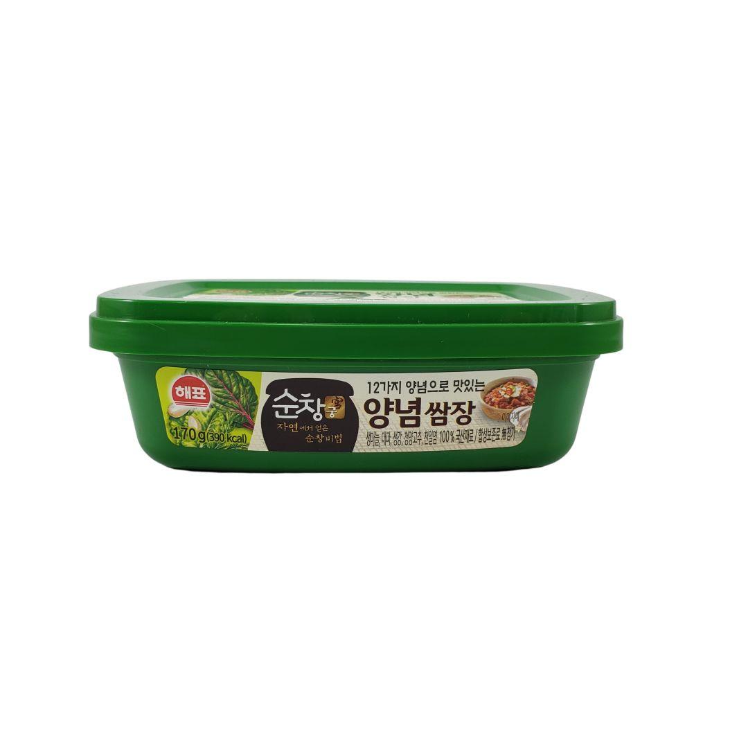 Pasta de Soja Coreana Temperada Ssamjang Sajo 170g