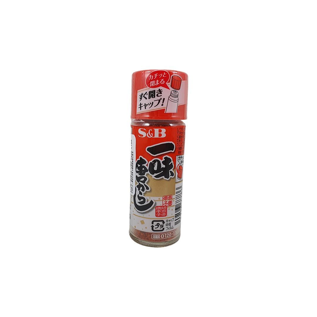 Pimenta Vermelha em Pó Japonesa Ichimi Togarashi S&B 15g