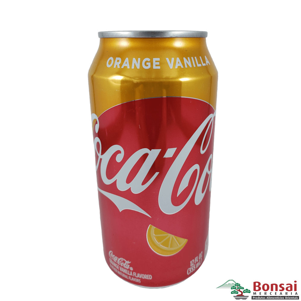 Coca Cola Baunilha com Laranja 355ml