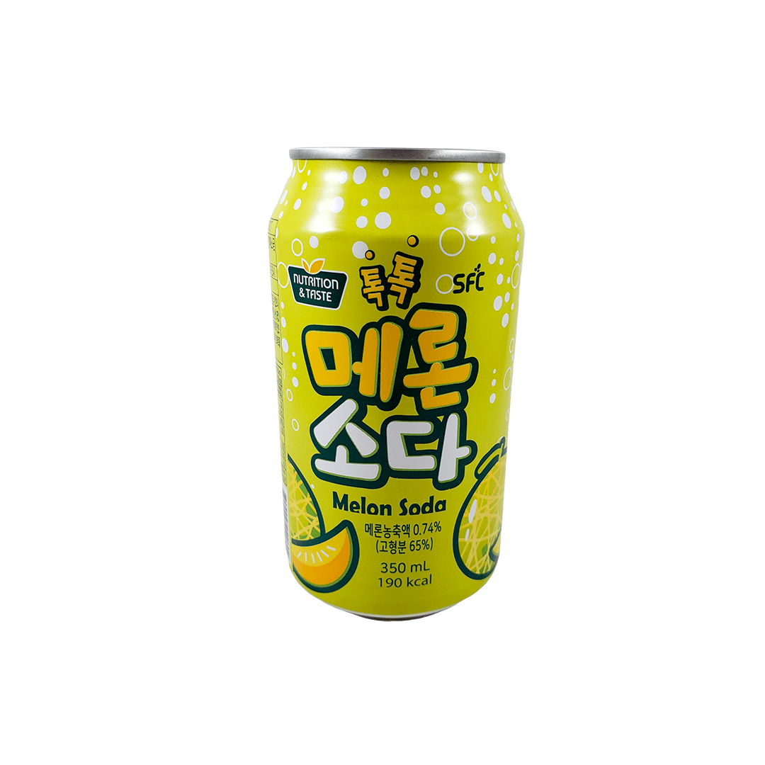 Refrigerante Coreano de Melão 350ml