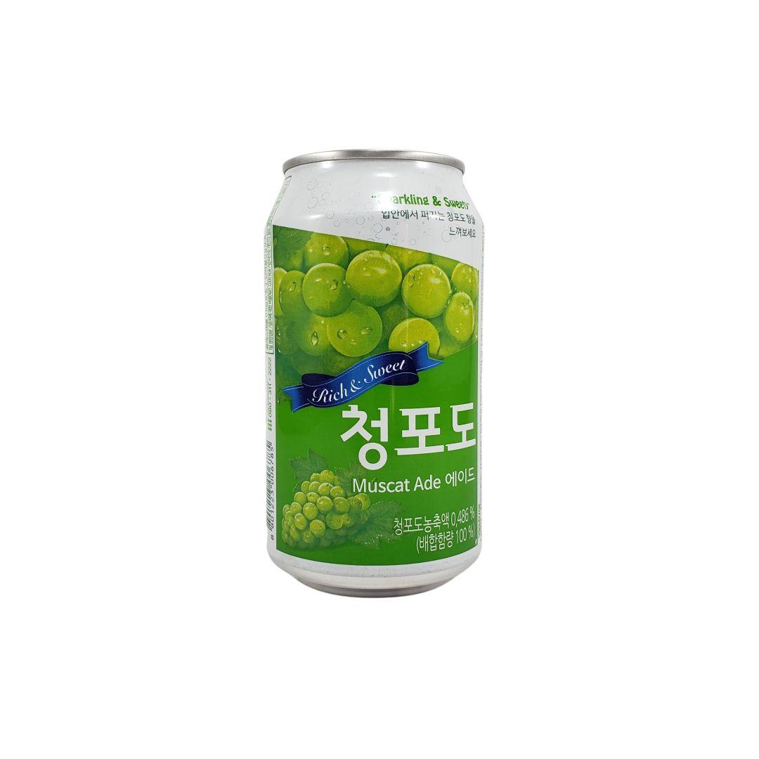 Refrigerante Coreano de Uva Verde Ilhwa 350ml