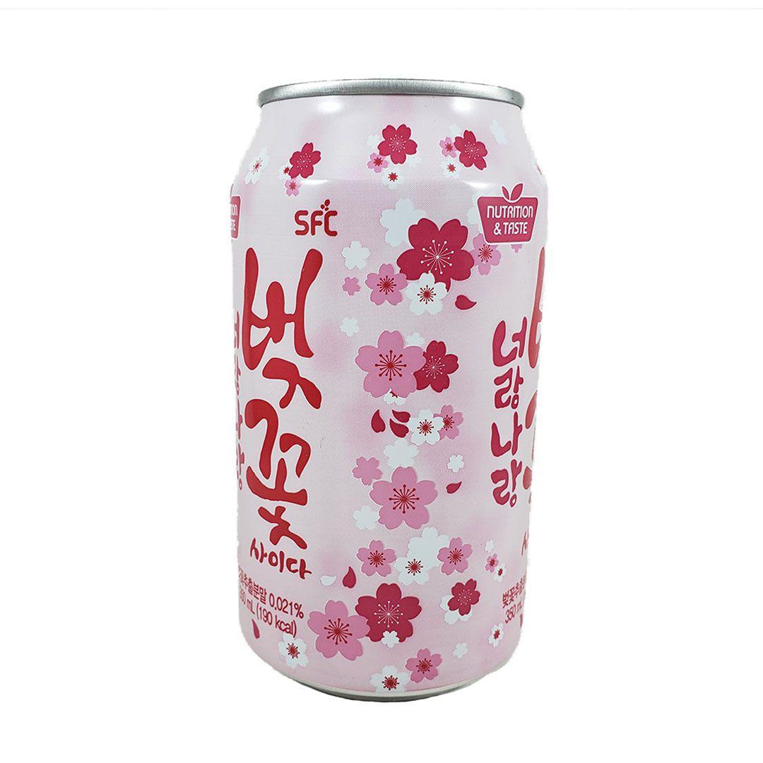 Refrigerante Coreano Flor de Cerejeira Sakura
