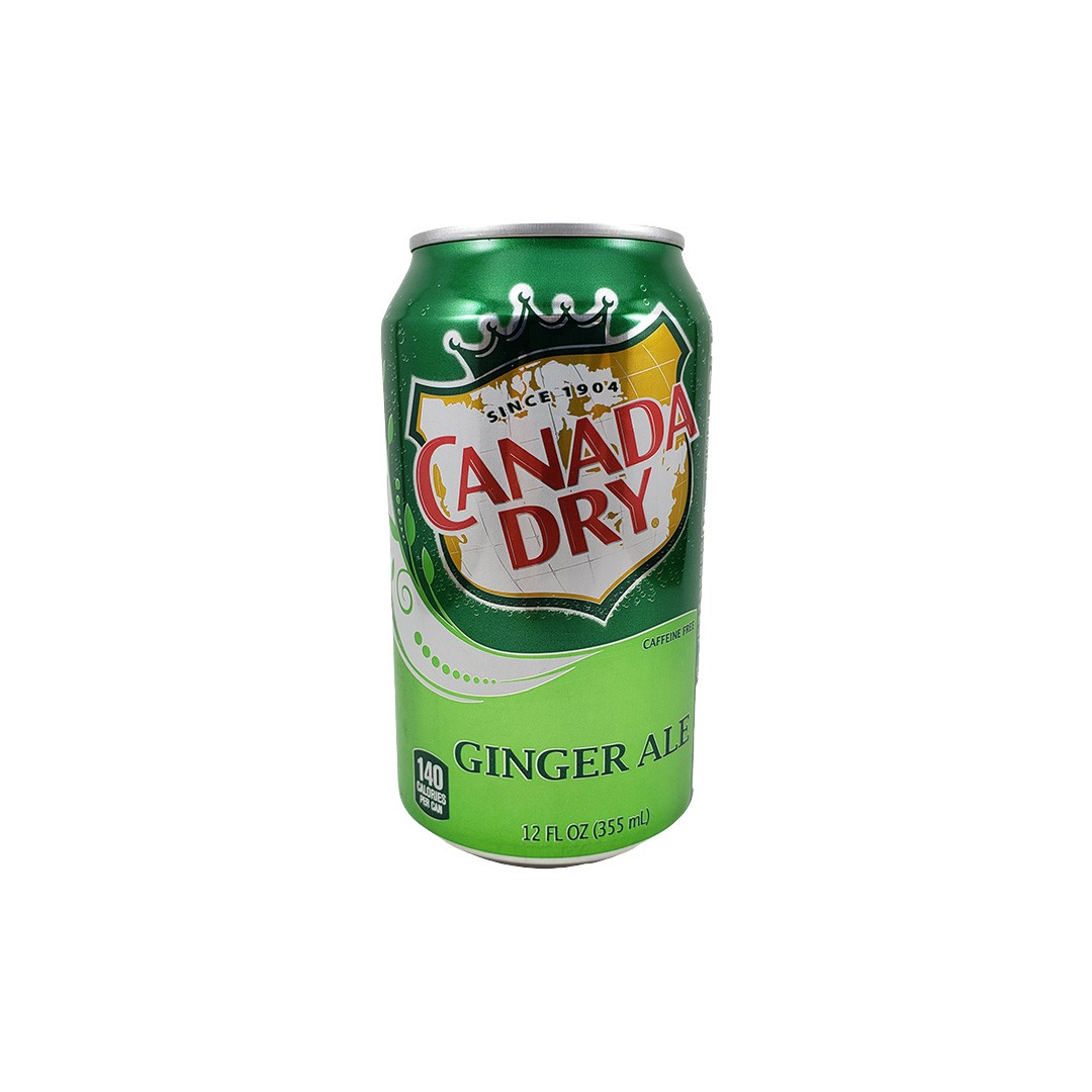 Refrigerante de Gengibre Canada Dry Ginger Ale 355ml