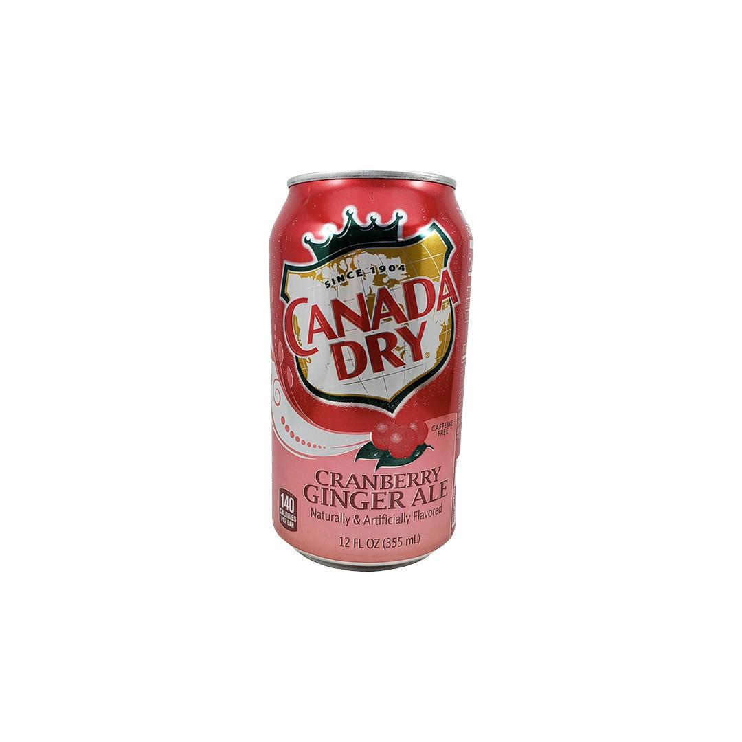 Refrigerante de Gengibre e Cranberry Canada Dry 355ml