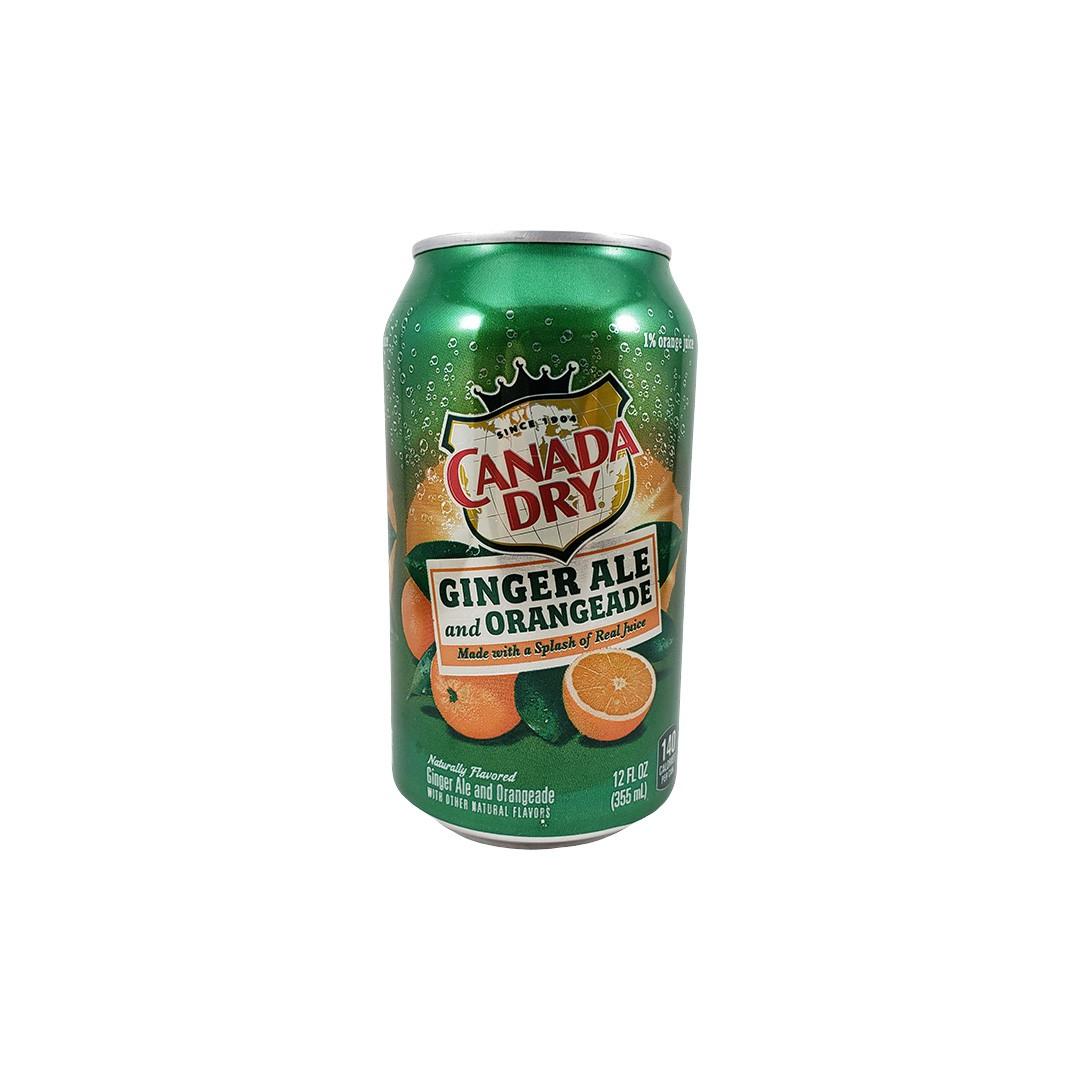 Refrigerante de Gengibre e Laranja Canada Dry 355ml