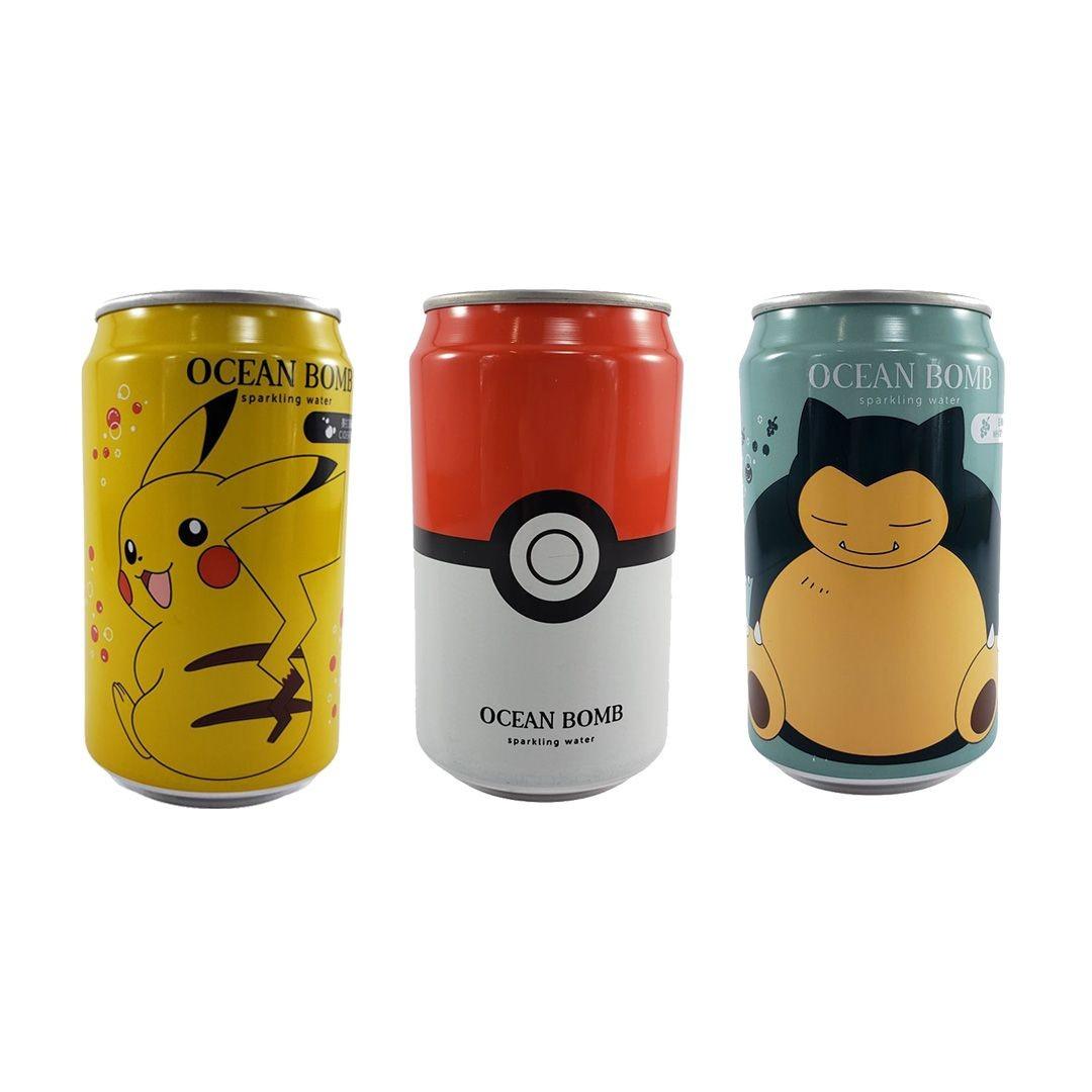 Refrigerante Pokemon Kit 3 Sortidos