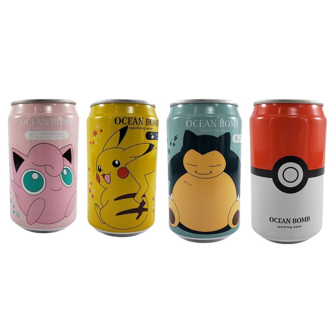 Refrigerante Pokemon Kit 4 Sortidos