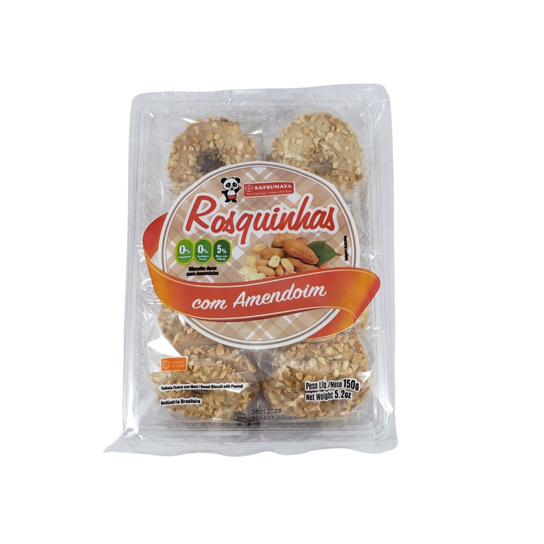 Rosquinha Biscoito Doce com Amendoim Satsumaya 150g