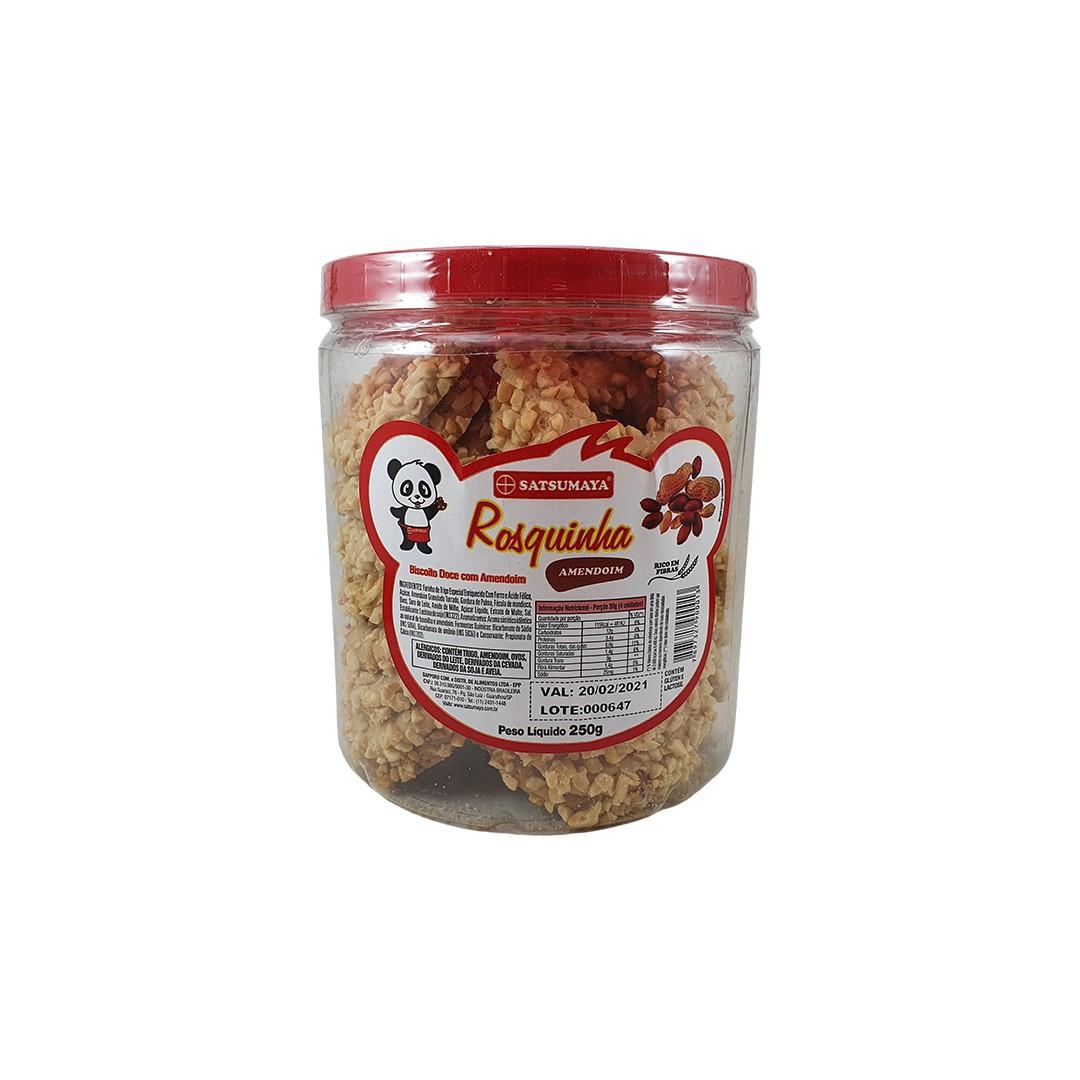 Rosquinha Biscoito Doce com Amendoim Satsumaya 250g